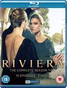 Riviera Season 2 (Blu-ray) (UK Import), 3 Blu-ray Discs