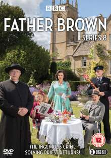 Father Brown Season 8 (UK Import), 3 DVDs