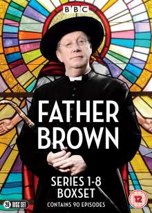 Father Brown Season 1-8 (UK Import), 26 DVDs