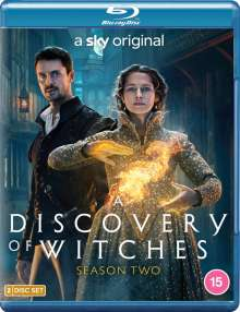 A Discovery of Witches Season 2 (Blu-ray) (UK Import), 2 Blu-ray Discs