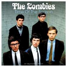 The Zombies: Time Of The Season (180g) (Electric-Blue Vinyl), 2 LPs