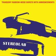 Stereolab: Transient Random Noise (+ Poster), 3 LPs