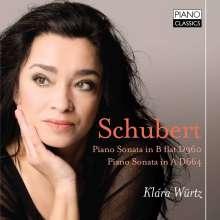 Franz Schubert (1797-1828): Klaviersonaten D.664 & 960, CD