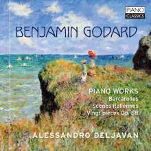 Benjamin Godard (1849-1895): Klavierwerke, CD