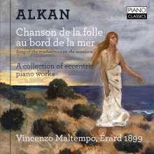 """Charles Alkan (1813-1888): Klavierwerke """"Chanson de la folle au bord de la mer"""", CD"""