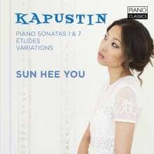 Nikolai Kapustin (geb. 1937): Klaviersonaten Nr.1 & 7 (opp.39 & 64), CD
