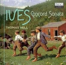 "Charles Ives (1874-1954): Klaviersonate Nr.2 ""Concord"", CD"