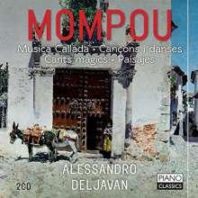 Federico Mompou (1893-1987): Klavierwerke, 2 CDs