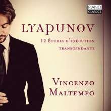 Sergei Lyapunov (1859-1924): Transcendentale Etudes 1-12, CD