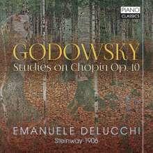 Leopold Godowsky (1870-1938): Studien über die Etüden von Chopin Nr.1-22,47, CD