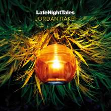 Jordan Rakei: Late Night Tales (180g) (Limited Numbered Edition) (Green Vinyl), 2 LPs