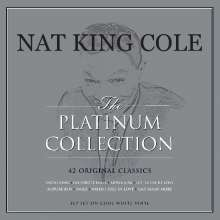 Nat King Cole (1919-1965): The Platinum Collection (180g) (Limited Edition) (White Vinyl), 3 LPs