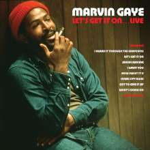 Marvin Gaye: Let's Get It On Live (180g) (Red Vinyl), 2 LPs