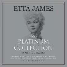 Etta James: The Platinum Collection (White Vinyl), 3 LPs