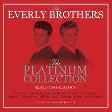 The Everly Brothers: Platinum Collection (Silky Silver Vinyl), 3 LPs
