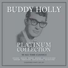 Buddy Holly: Platinum Collection (Colored Vinyl), 3 LPs