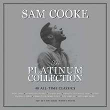 Sam Cooke: The Platinum Collection (Cool White Vinyl), 3 LPs