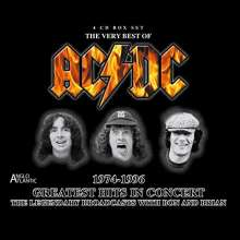 AC/DC: Greatest Hits in Concert 1974 - 1996, 4 CDs