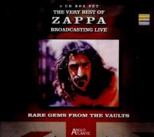 Frank Zappa (1940-1993): Rare Gems From The Vaults: Broadcasting Live, 4 CDs
