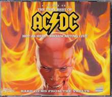 AC/DC: The Very Best Of AC/DC: Hot As Hell - Broadcasting Live (Bon Scott Era 1977 - 1979), 4 CDs