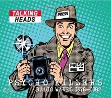 Talking Heads: Psycho Killers: Radio Waves 1978 - 1982, 4 CDs