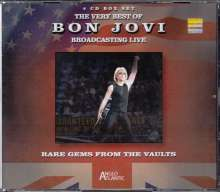 Bon Jovi: Rare Gems From The Vaults: Broadcasting Live, 4 CDs