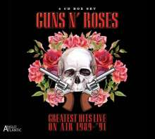 Guns N' Roses: Greatest Hits Live: In Concert On Air 1989 - 1991, 4 CDs