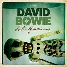 David Bowie: Latin Americans: The Classic Broadcasts 1990, 4 CDs