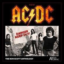 AC/DC: Danger Keep Out: The Bon Scott-Anthology, 4 CDs