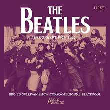 The Beatles: In Concert 1962 - 1966, 4 CDs