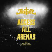 Justice (Metal): Access All Arenas (2017, New Packaging Edition), 2 LPs