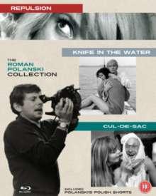 Roman Polanski Collection (UK Import), 3 Blu-ray Discs