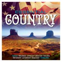 Essential Country: 75 Original Country Greats, 3 CDs