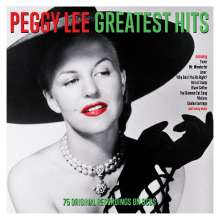 Peggy Lee (1920-2002): Greatest Hits, 3 CDs