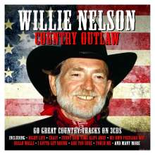 Willie Nelson: Country Outlaw, 3 CDs