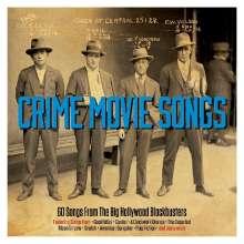 Filmmusik: Crime Movie Songs - 60 Songs From Big Hollywood Blockbusters, 3 CDs