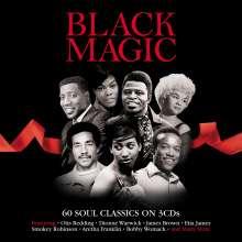 Black Magic 60 Soul Classics, 3 CDs