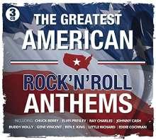 Greatest American Rock'n'Roll Anthems, 3 CDs