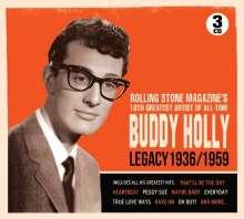 Buddy Holly: Legacy 1936 - 1959, 3 CDs