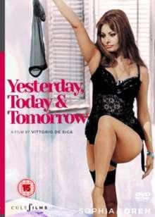 Ieri, Oggi E Domani (1963) (UK Import), DVD