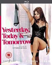 Ieri, Oggi E Domani (Yesterday, today & tomorrow) (1963) (Blu-ray) (UK Import), Blu-ray Disc