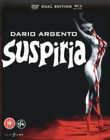 Suspiria (1977) (Blu-ray & DVD) (UK Import), 1 Blu-ray Disc und 1 DVD