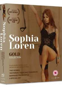 Sophia Loren Gold Collection (Blu-ray) (UK Import), 4 Blu-ray Discs
