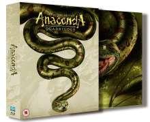 Anaconda 1-4 (Blu-ray) (UK Import), 3 Blu-ray Discs