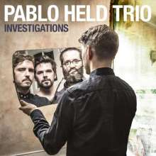 Pablo Held (geb. 1986): Investigations (signiert, exklusiv für jpc), CD
