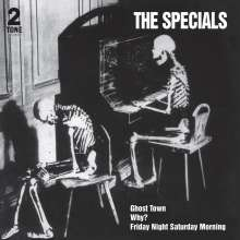 """The Coventry Automatics Aka The Specials: Ghost Town (40th Anniversary Half Speed Master), Single 7"""""""