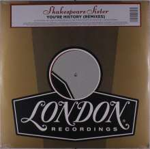 Shakespears Sister: You're History (Remixes), Single 12""