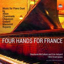 Four Hands for France, CD
