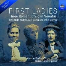 Elfrida Andree (1841-1929): Violinsonate B-Dur, CD