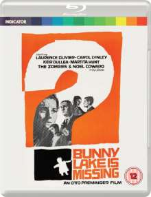 Bunny Lake Is Missing (1965) (Blu-ray) (UK Import), Blu-ray Disc